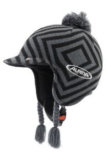 Alpina Skihelm mit Mütze