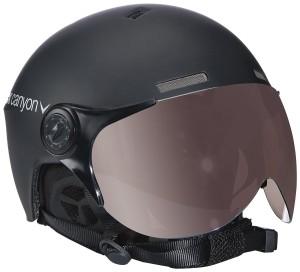 Black Canyon Skihelm Erwachsenen Gstaad mit Visier Test